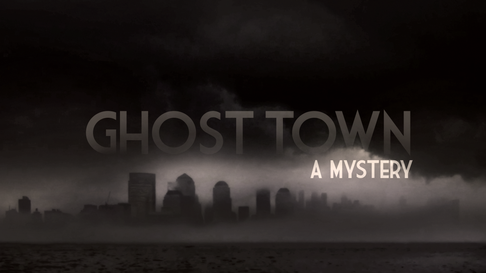 Ghost Town: A Mystery is the 1st book in the Ghost Town series. It tells the story of Arthur and his mission to Treble City.