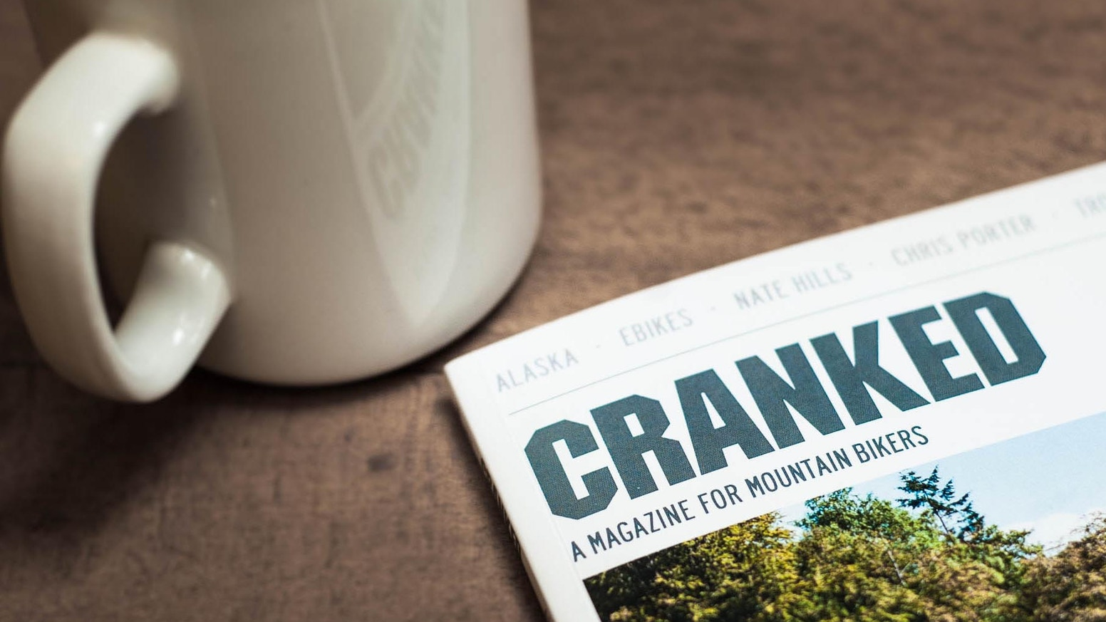 Cranked is a new magazine for mountain bikers. Fabulous photography and writing, beautifully printed and delivered to your door