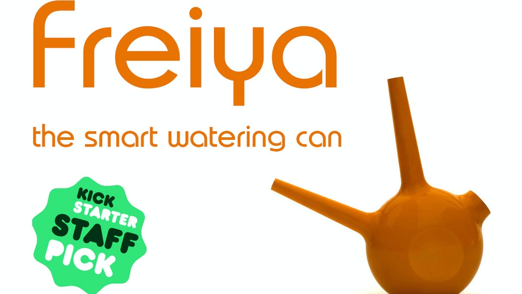 Project image for freiya - the smart watering can (Canceled)