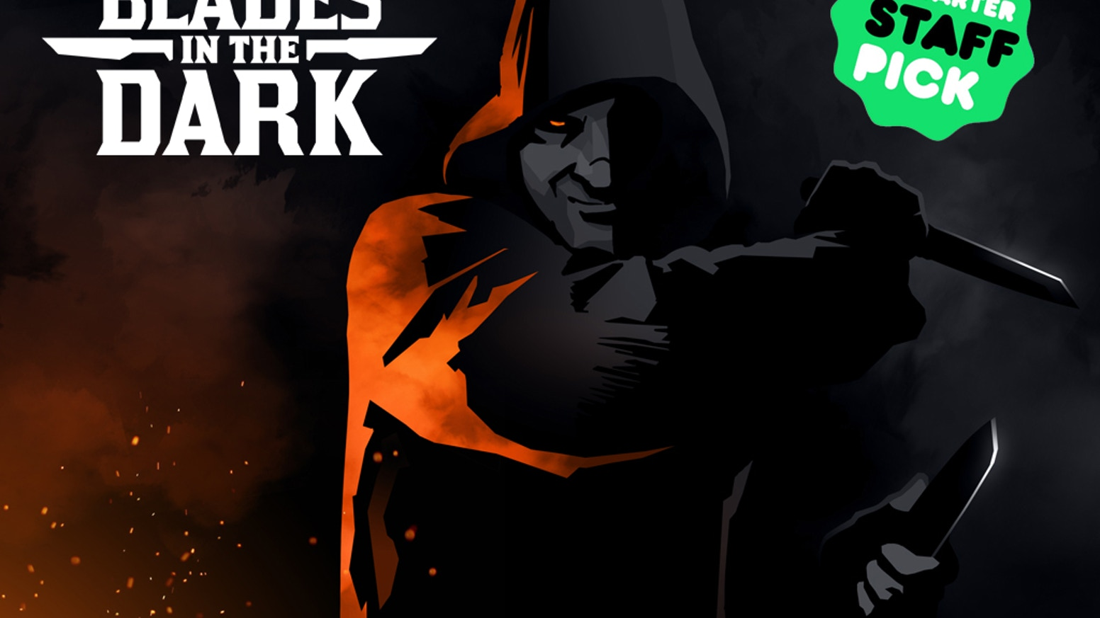 Blades in the Dark is a tabletop RPG about a crew of daring scoundrels building a criminal empire in a haunted city full of thieves.