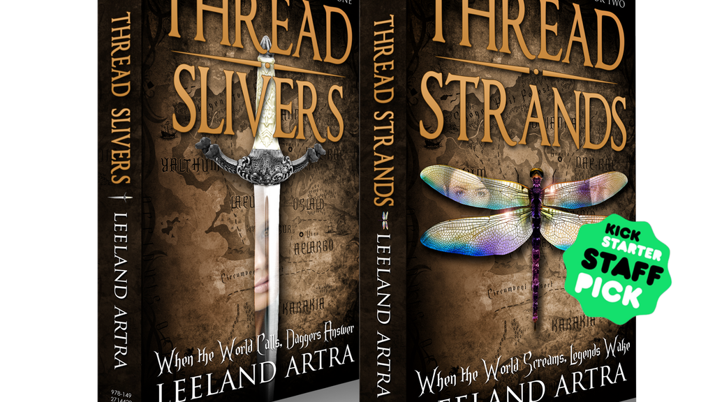 Hardback Editions of Thread Slivers and Thread Strands project video thumbnail