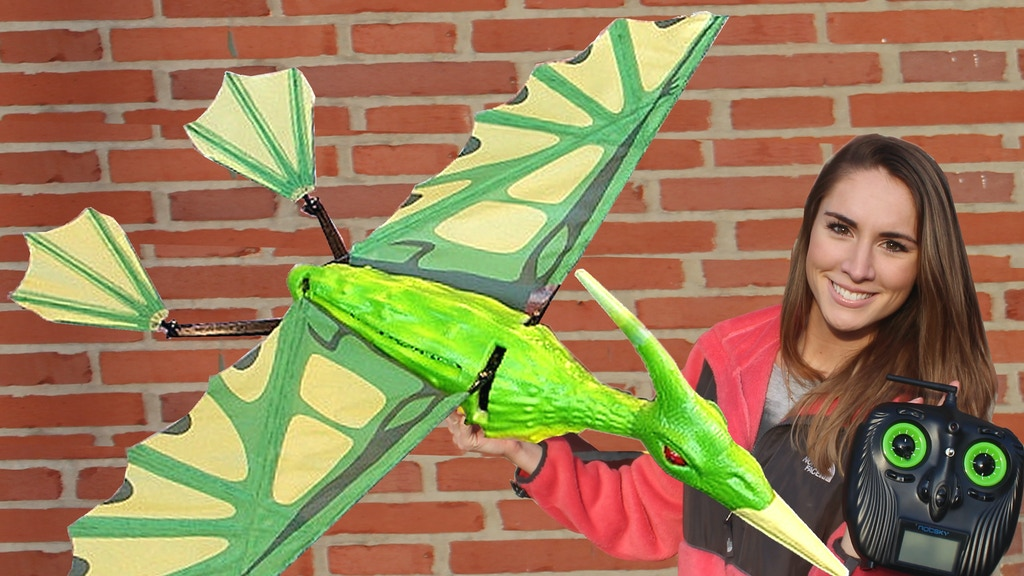 Pterodactyl - 5' RC Flying Lizard project video thumbnail