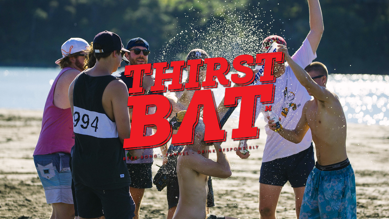 ThirstBat is the only sports bat / beer bong you will ever need! Smash that homer, crush that 6, fill it up, and take one for the team!