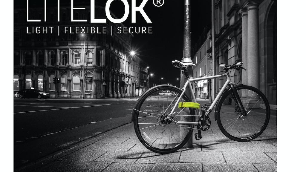 LITELOK®: Lightweight, flexible and super secure bike lock. project video thumbnail
