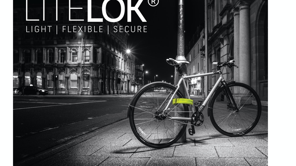 LITELOK®: Lightweight, flexible and super secure bike lock. project video thumbnail