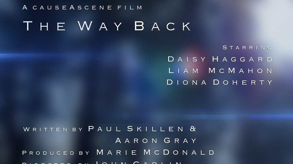 The Way Back project video thumbnail