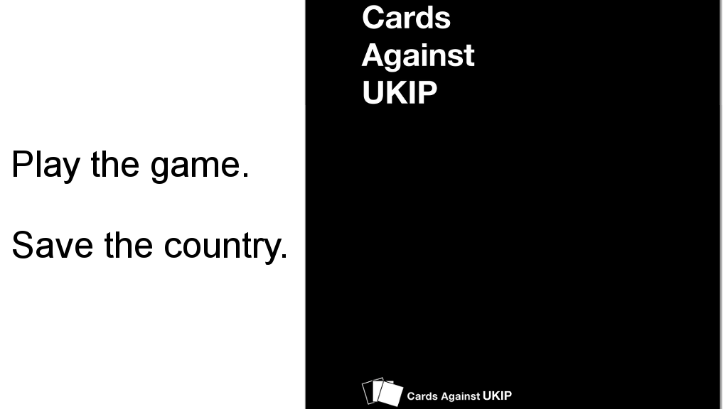 Project image for Cards against UKIP