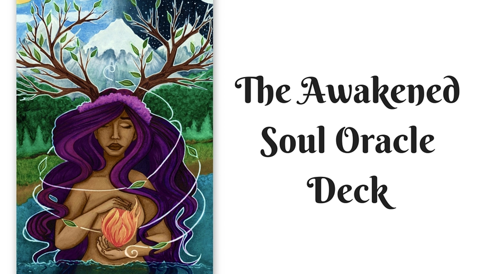 A Oracle Deck for Awakened Souls, Tarot Readers, Mystics and Dreamers. Connecting you with your inner truth.
