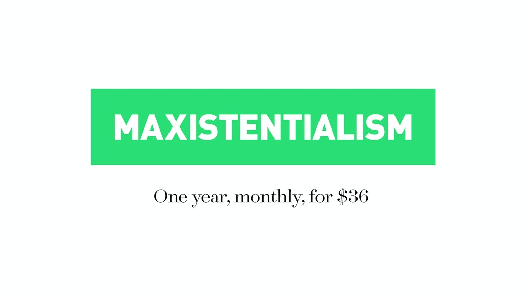 Maxistentialism Zine project video thumbnail