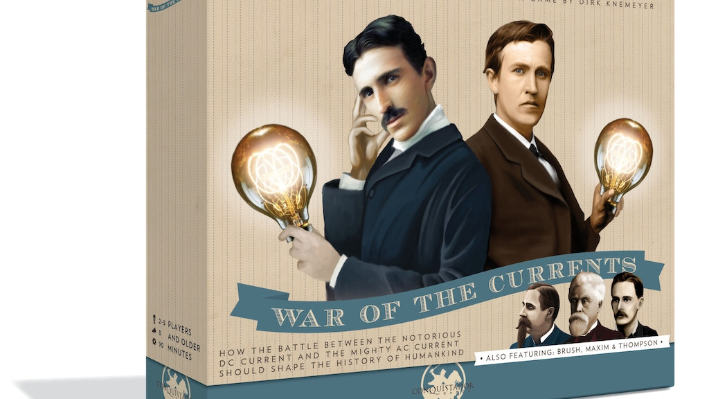 Tesla vs. Edison project video thumbnail
