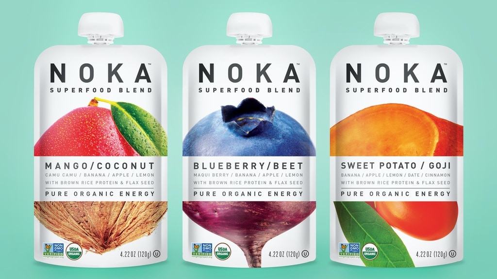 NOKA Superfood Blends. Your Smoothie On-The-Go. project video thumbnail