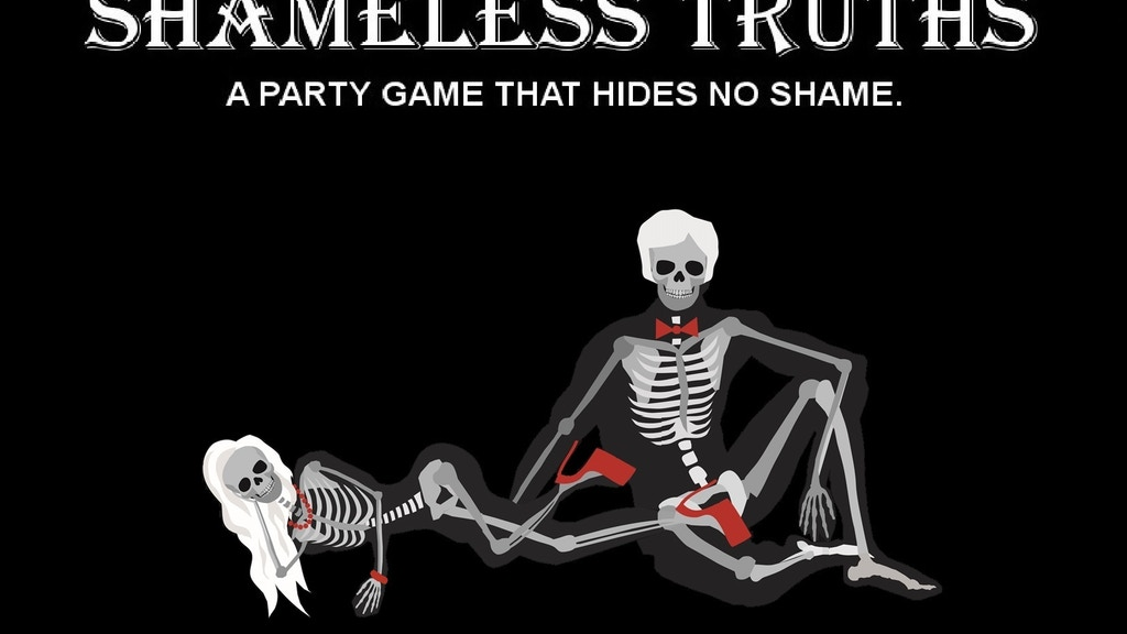 Project image for Shameless Truths Cards (A party game that hides no shame.)