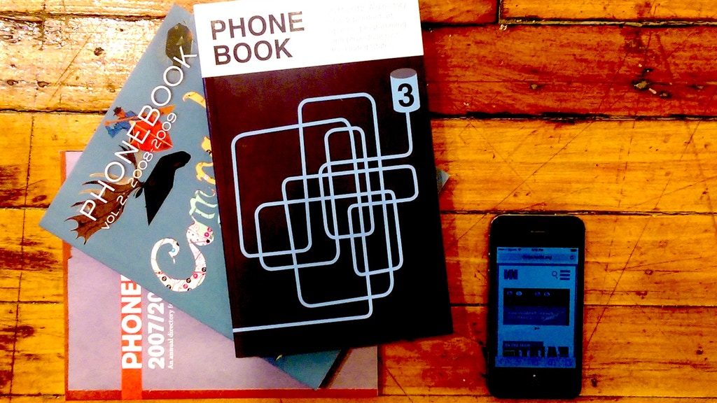 PHONEBOOK: The Mobile Field Guide to the Art World project video thumbnail