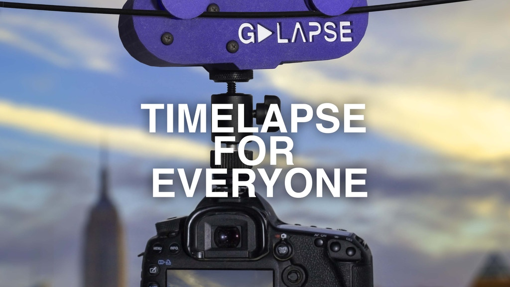 GoLapse- Easy Timelapse Trolley project video thumbnail