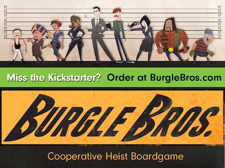 Burgle Bros. - A Cooperative Heist Boardgame - Kickstarter