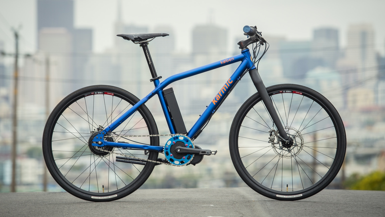 762786e3db3 The Karmic Koben is a modern ebike that lets you ride faster, go farther,