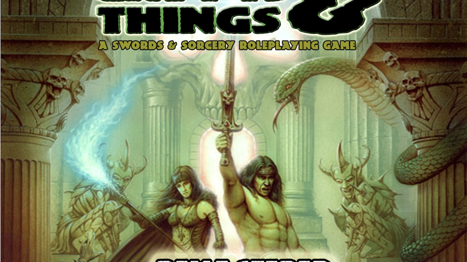 A  Swords & Sorcery Tabletop Roleplaying Game from the British Old School.