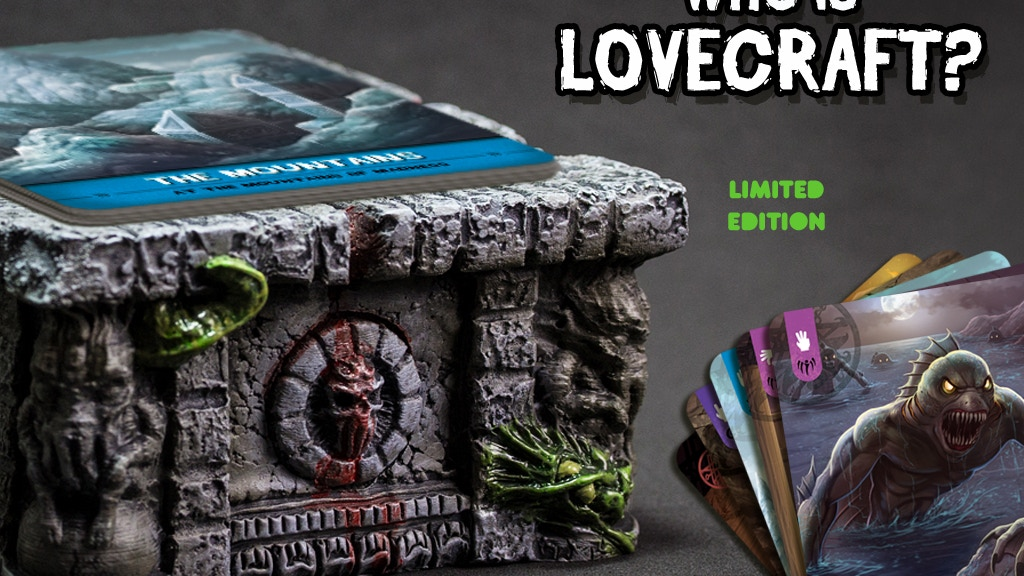 Project image for Who is Lovecraft? Cthulhu Mythos game for 78th Anniversary