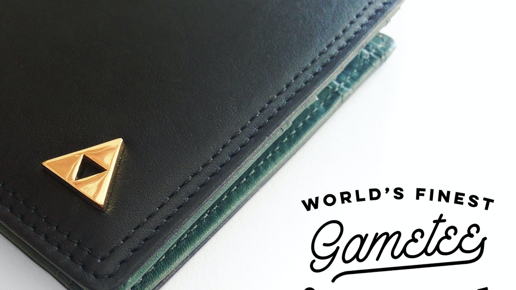 Gametee: The World's Finest Wallet for Videogamers project video thumbnail