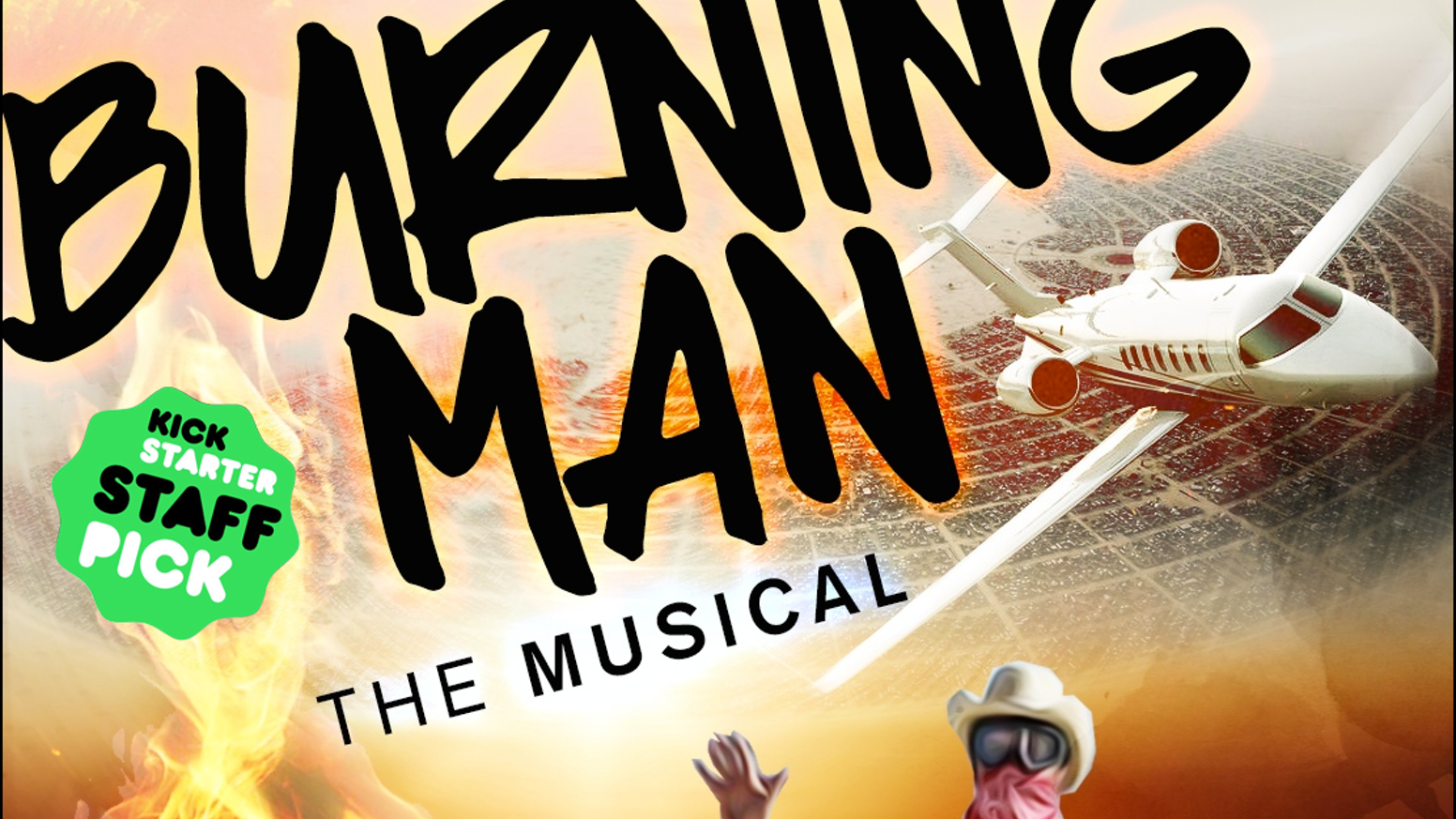 We're creating & filming the opening song to Burning Man: The Musical.