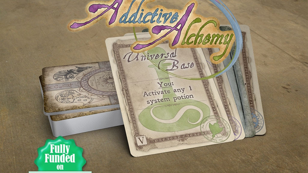 Addictive Alchemy project video thumbnail