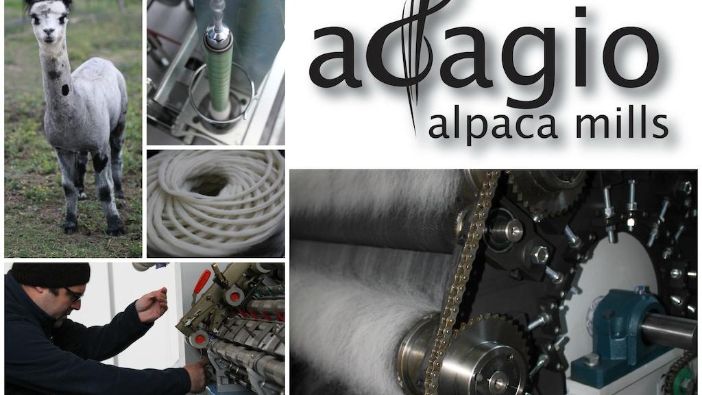 adagio alpaca mills project video thumbnail