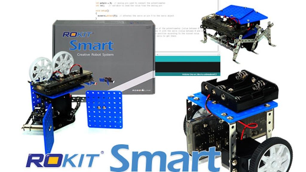 Educational Robot Kit: Rokit Smart (12-in-1 Robot Kit) project video thumbnail