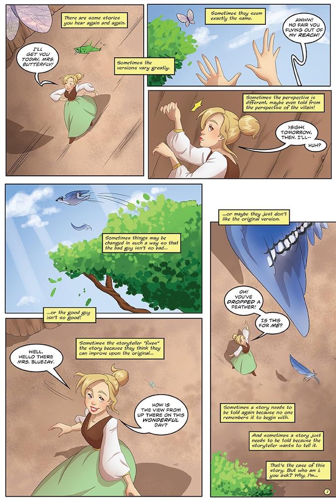 Tiny #1 page 1