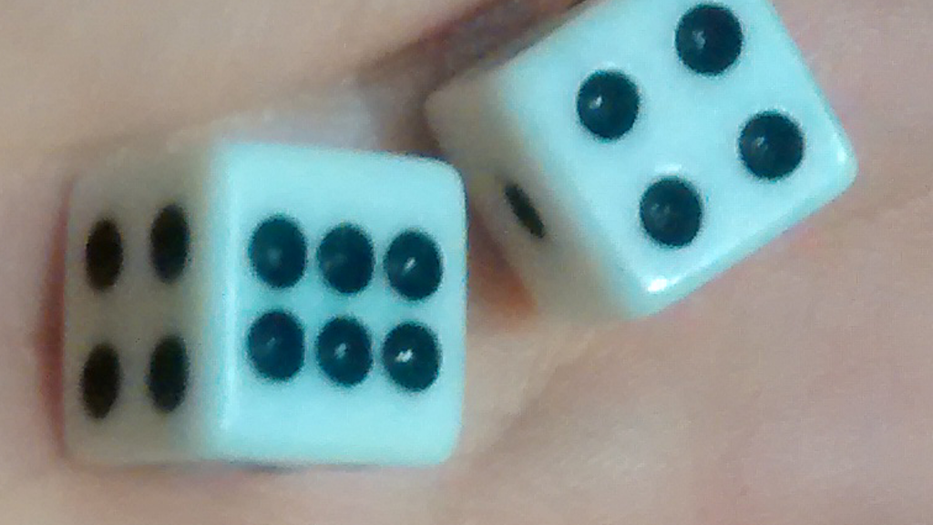 Project image for Billiard Ball Dice: Hand Carved (Canceled)