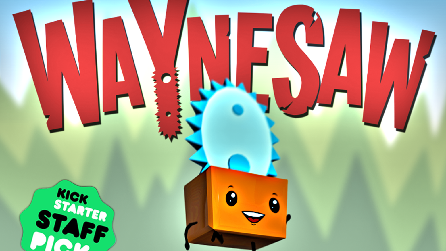 A game starring a friendly little pet chainsaw who has no idea how dangerous he is! Help reunite him with his terrified family!
