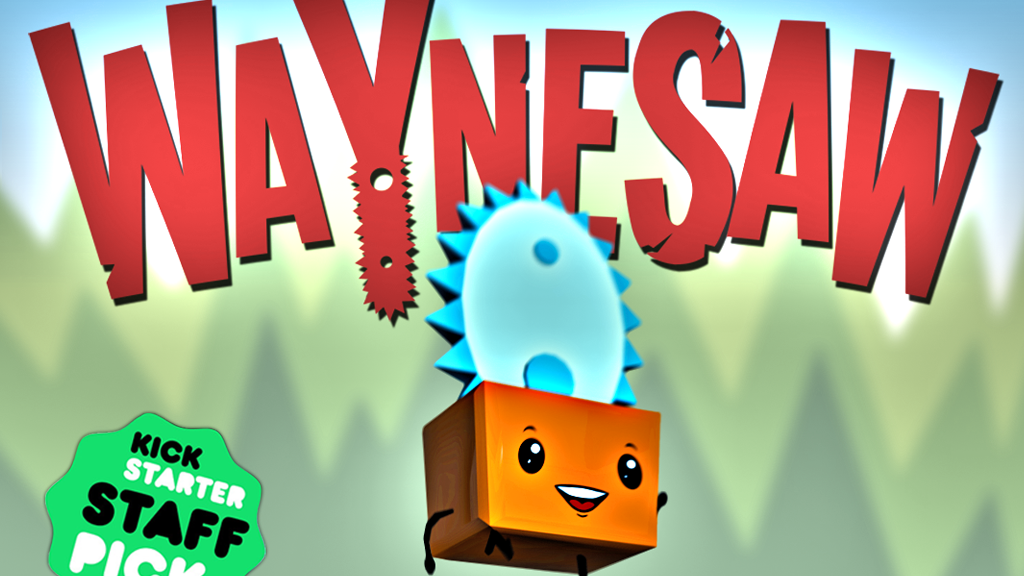 WAYNESAW: A game about a friendly chainsaw. project video thumbnail