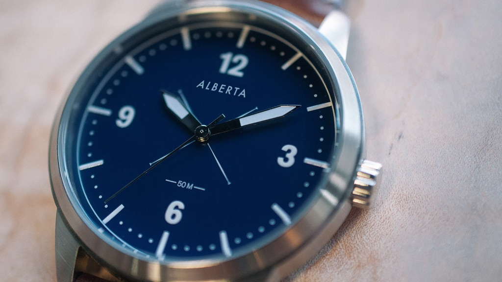 Alberta Watches: stylish, rugged, and affordable watches. project video thumbnail
