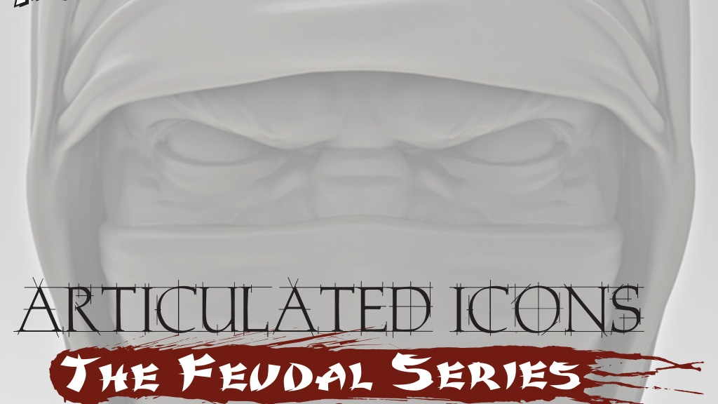 Articulated Icons: The Feudal Series - Ninja Action Figures project video thumbnail