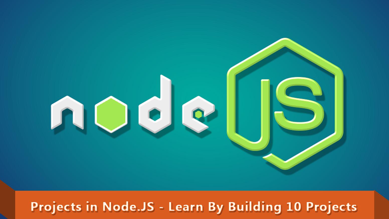 Calendar Planner Nodejs : Projects in node js learn by building
