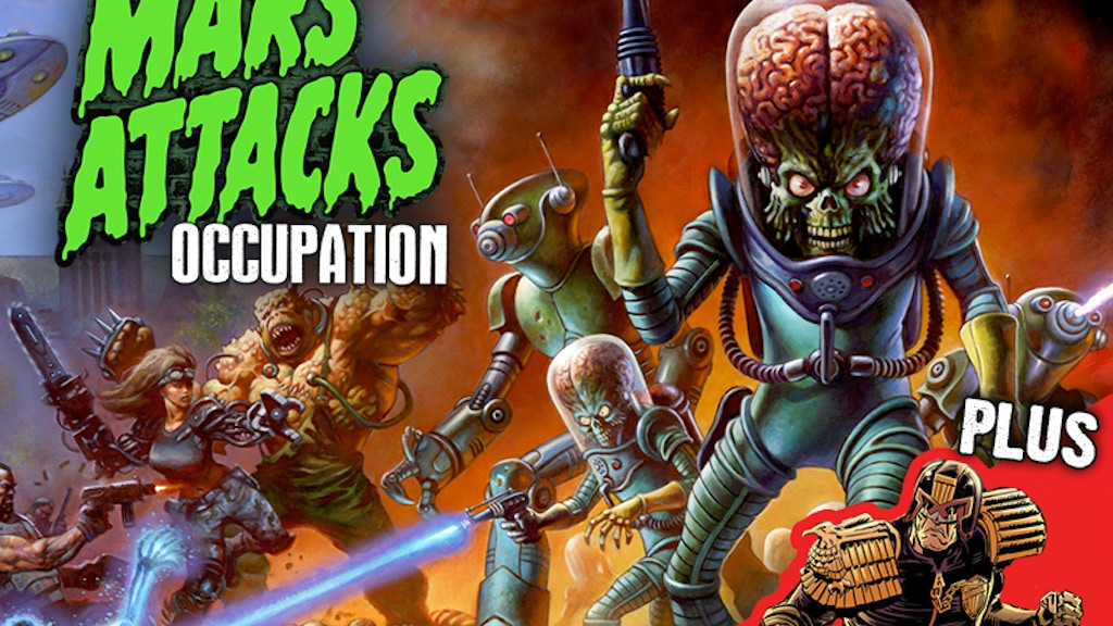 Mars Attacks Occupation Trading Cards project video thumbnail