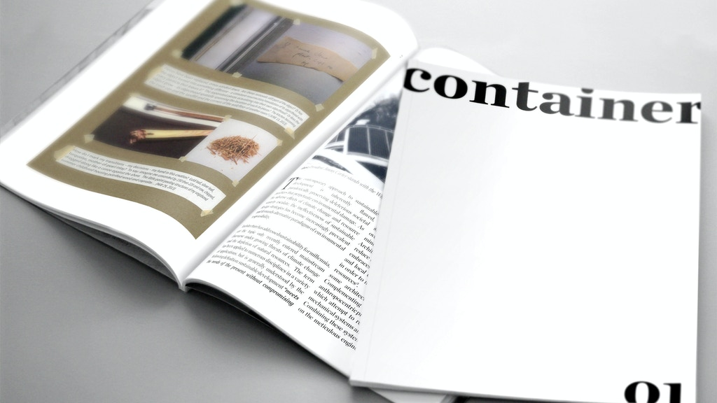 container Design Journal project video thumbnail