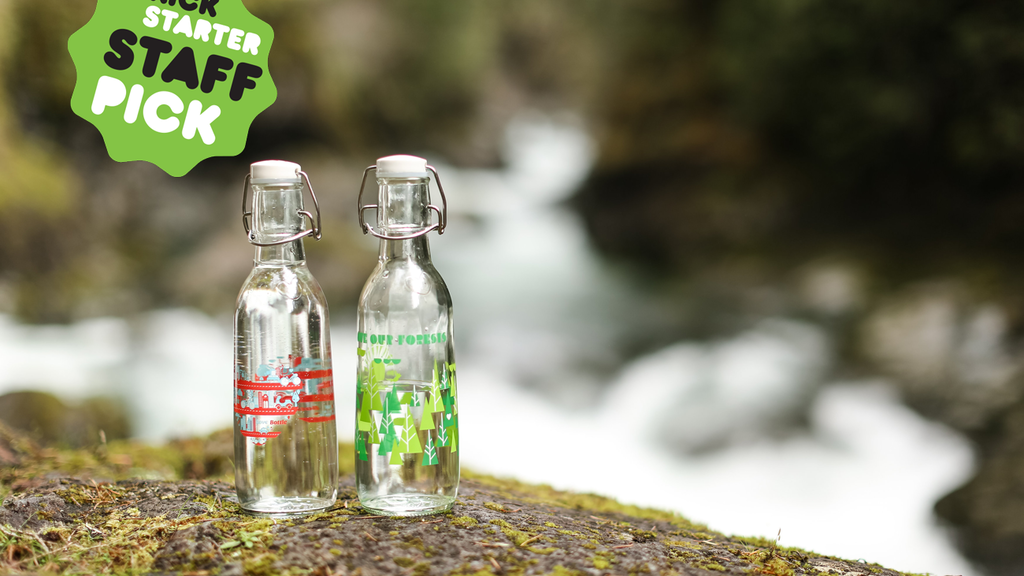 Love Bottle,  American Made Reusable Glass Water Bottles project video thumbnail