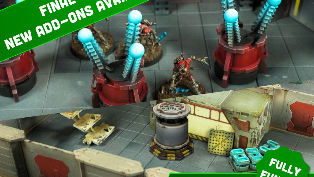 Black Site X and Rapid Vanguard Terrain by Death Ray Designs project video thumbnail