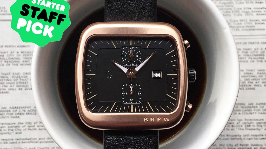 Brew Watch Co. - Coffee Inspired project video thumbnail