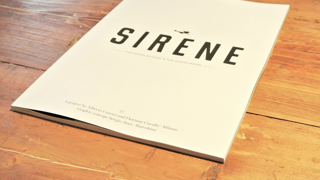 SIRENE - a magazine for sea lovers project video thumbnail