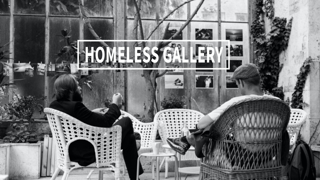 Homeless Gallery project video thumbnail
