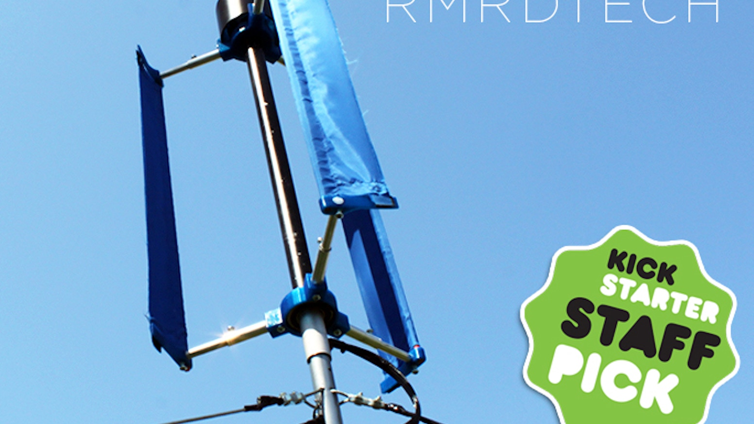 A Small Wind Turbine for a Big Difference by RMRDTECH