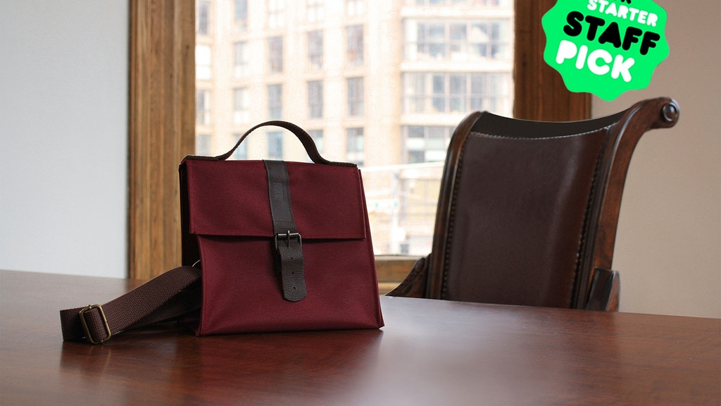 The Colborne Bag: The Design-Driven Lunch Bag project video thumbnail