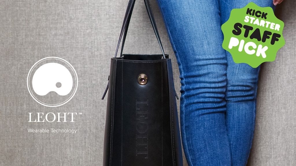 Leoht - Wearable Tech Handbags Made Beautifully project video thumbnail