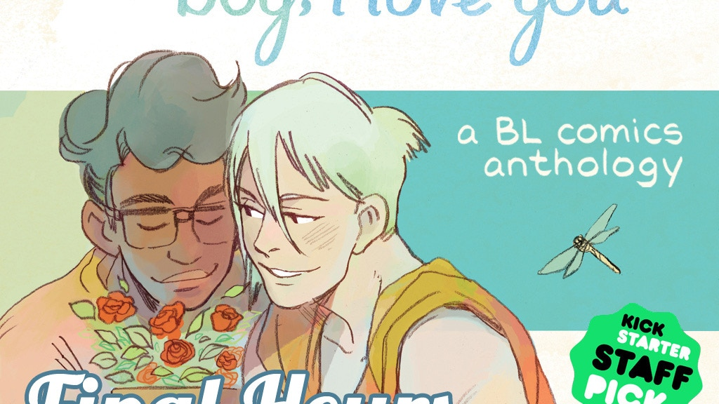Boy, I Love You - A Boys' Love Comics Anthology project video thumbnail