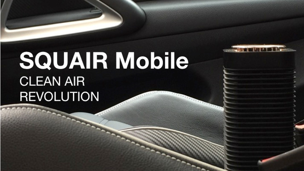 SQUAIR Mobile - enjoy clean air wherever you go! project video thumbnail