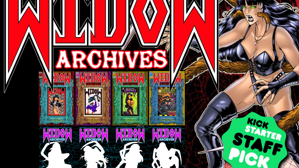 WIDOW ARCHIVES from Mike Wolfer Entertainment project video thumbnail