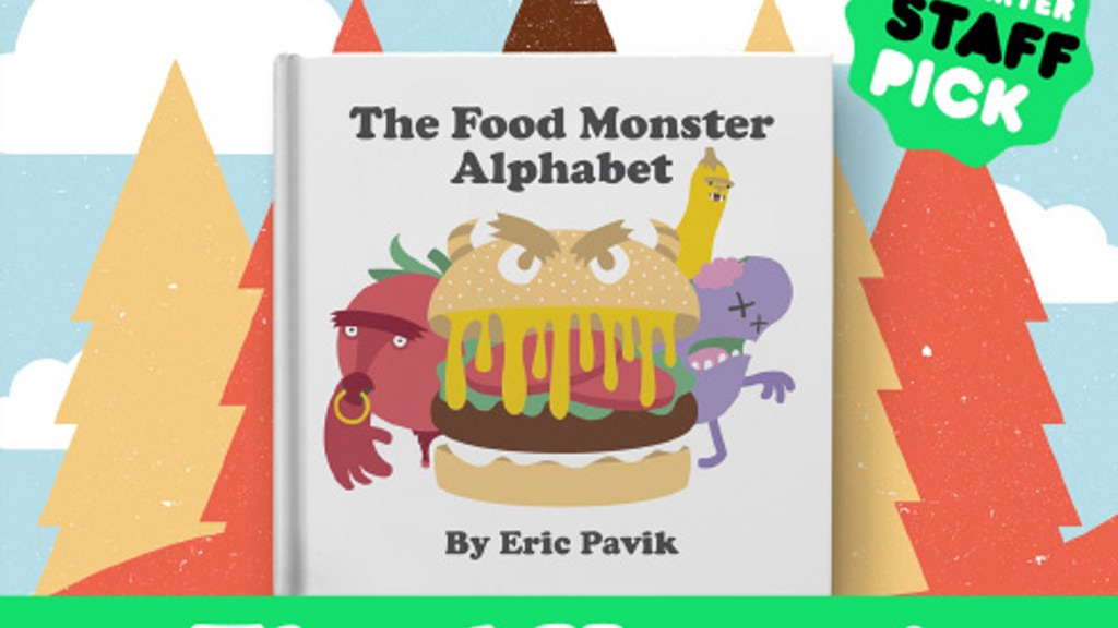 The Food Monster Alphabet project video thumbnail