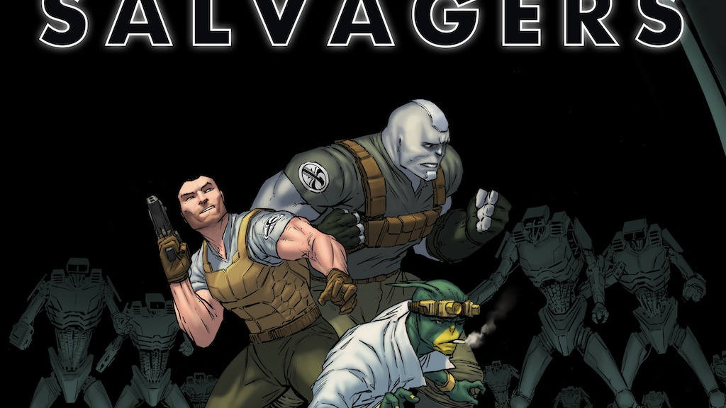 Salvagers: Abandoned Cargo #4 project video thumbnail