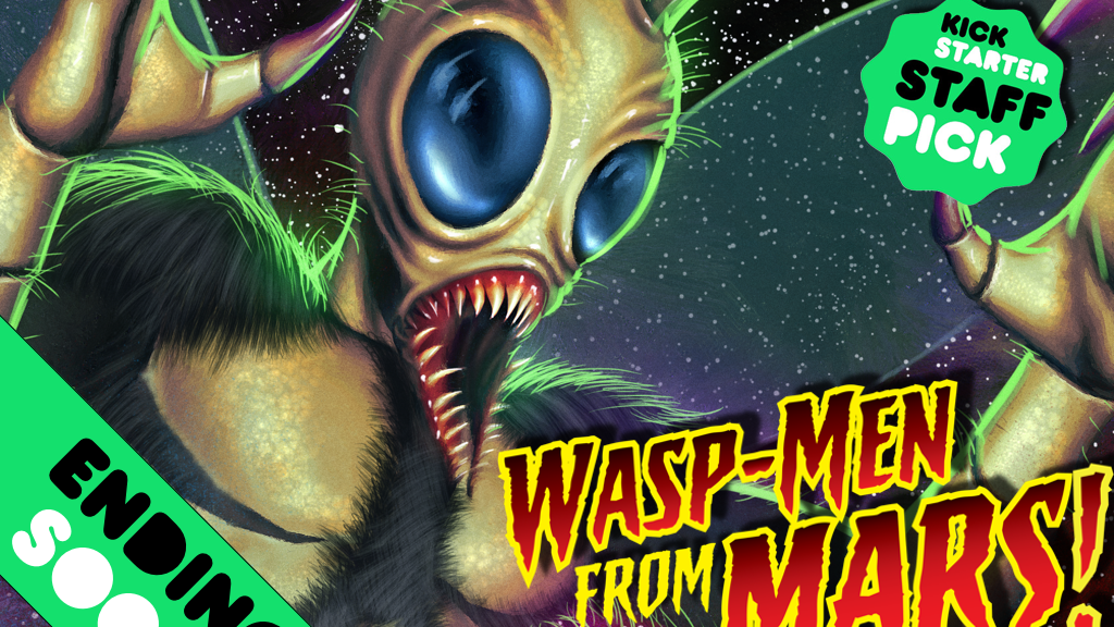 Wasp-Men From Mars! project video thumbnail